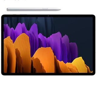 SAMSUNG 三星 Tab S7+ 12.4英寸 平板电脑(2880x1920dpi、高通骁龙865+、8GB、256GB、WiFi、冷山灰、SM-T970)