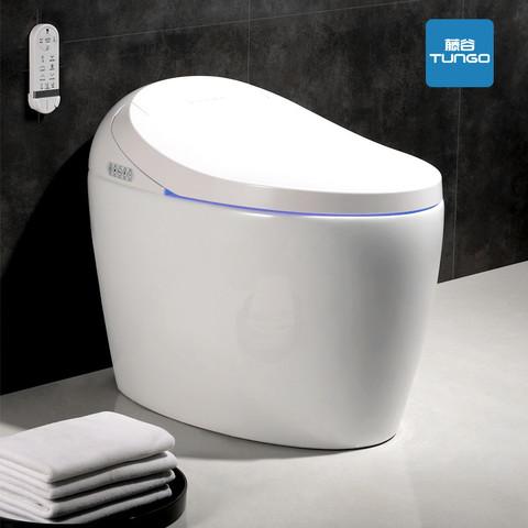 藤谷(TUNGO)日本智能马桶一体机全自动即热式无水箱坐便器 T205