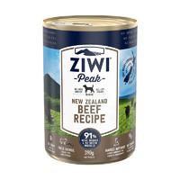 京东PLUS会员:ZIWI 滋益巅峰 狗主食罐头 牛肉 390g *6件
