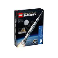 百亿补贴:LEGO 乐高 ideas系列 92176 NASA 阿波罗计划 土星5号运载火箭