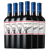 MONTES 蒙特斯 经典系列 梅洛干红葡萄酒 750ml*6