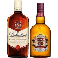 CHIVAS 芝华士 威士忌组合装 500ml*2瓶(芝华士12年500ml+百龄坛特醇500ml)