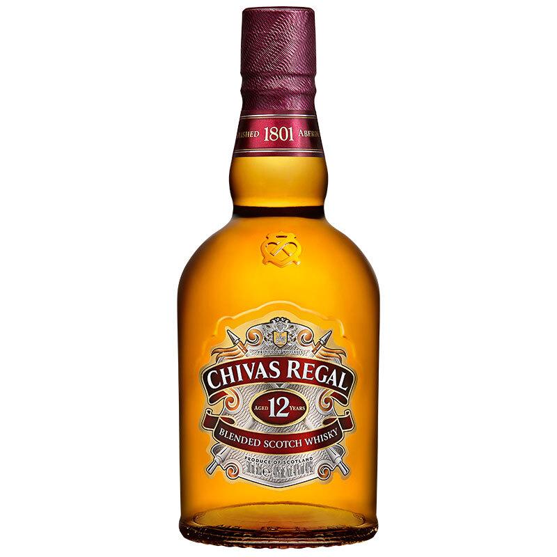 CHIVAS 芝华士 Chivas 芝华士 洋酒 12年 苏格兰威士忌 500ml
