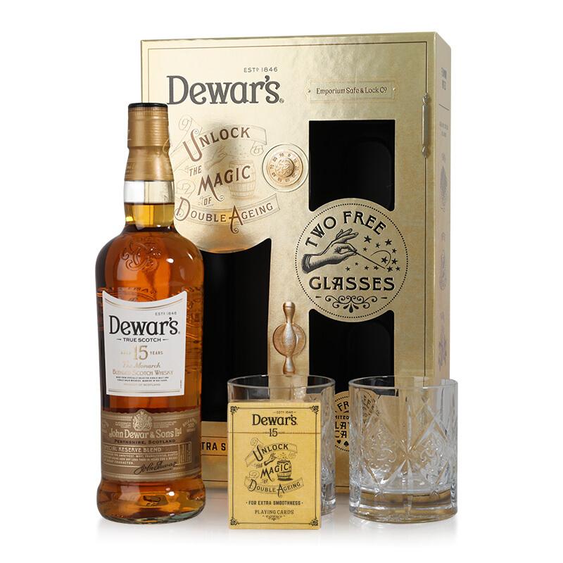Dewar's 帝王 15年 调配苏格兰威士忌 750ml