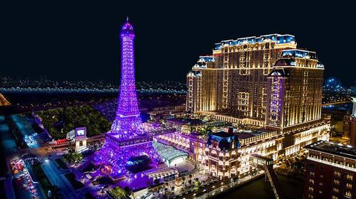 澳门巴黎人豪华大床房2晚(免费升级至艾菲尔大床房+500元澳门元度假区消费券1份)