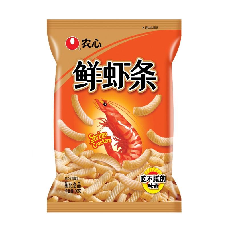 NONGSHIM 农心 原味鲜虾条 90g