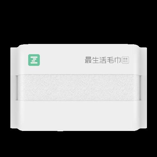 Z towel 最生活 青春系列 毛巾 30*70cm 90g 白色