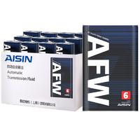 京东PLUS会员:AISIN 爱信 ATF AFW6 自动变速箱油 12L保养 循环机换油 +凑单品