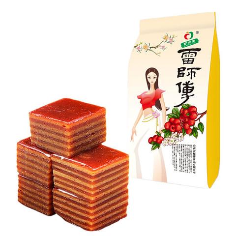 雷师傅 山楂布丁 350g *3件
