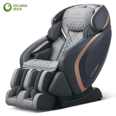 OGAWA 奥佳华 智摩大师 7808 家用按摩椅 蓝灰色