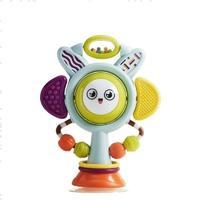 babycare 宝宝吃饭餐椅吸盘摇铃玩具