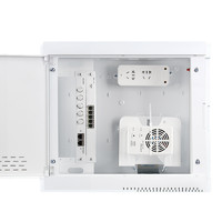 京东PLUS会员:DELIXI 德力西 家用多媒体光纤箱 中箱套餐(塑料面板) +凑单品