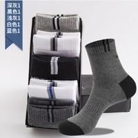 J-BOX  ydw02 襪子男中筒襪 5雙裝