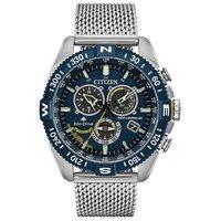 酷感十足、颜值在线—蓝天使三代 CB5848-57L 男士光动能腕表