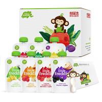 京东PLUS会员:LittleFreddie 小皮 婴儿辅食果蔬泥礼盒装 100g*7袋