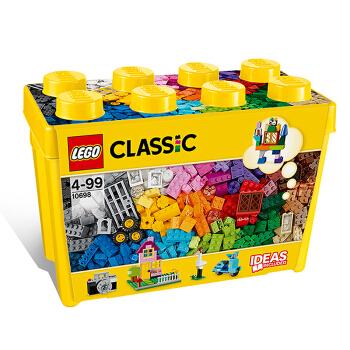5日0点、女神超惠买、88VIP : LEGO 乐高 经典创意系列 10698 大号积木盒