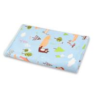 婴儿隔尿垫可洗儿童尿布尿片 蓝狐狸 尺码70*120cm