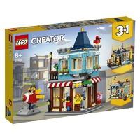 5日:LEGO 乐高 Creator3合1创意百变系列 31105 城镇玩具店