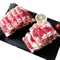 京东PLUS会员、限地区:宁鲜汇 盐池滩羊肉 羔羊羊肉卷 380g *6件