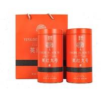 京东PLUS会员:衡峰 英红九号红茶叶 150g*1罐  *2件