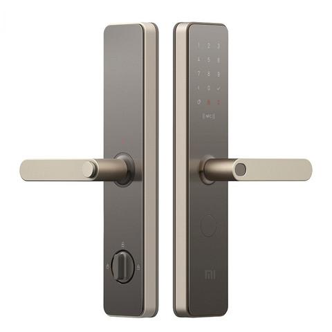MIJIA 米家 MJZNMS02LM 智能门锁 磨砂金 标准锁体