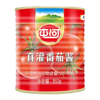 中粮屯河 调味酱 番茄酱 特选原料烘焙调料意大利面酱 850g 中粮出品 *2件