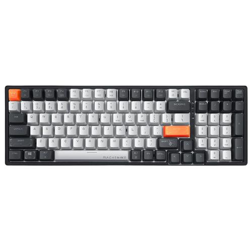 MACHENIKE 机械师 K600 无线机械键盘 100键 青轴白光双模版