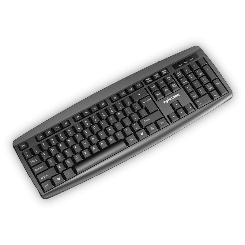 超级会员日: 英菲克 经典USB键盘 104键