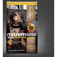 京东PLUS会员:nutram 纽顿 T27 无谷系列鸡肉全期粮6kg+真致牛奶*2瓶
