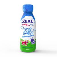 新西蘭ZEAL寵物零食鮮牛奶粉通用營養滋補液體狗營養品發育喝的奶