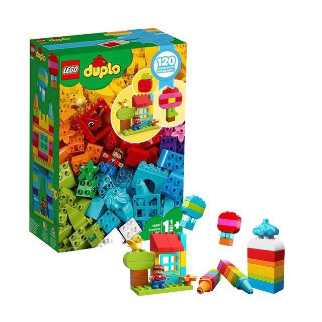 女神超惠买 : LEGO 乐高 DUPLO得宝系列 10887 我的自由创意趣玩箱 *4件