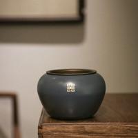 SUYI 素以 纯铜大漆小建水茶洗