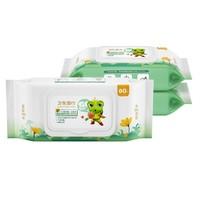 FROGPRINCE 青蛙王子 杀菌洁肤卫生湿巾 80片*3包 *3件