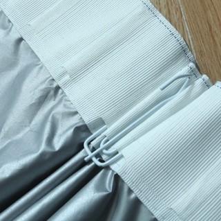 Othello 欧德罗 窗帘 柔软遮光双面银褶皱