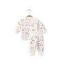 aqpa C046383 婴儿绑带套装 白色彩色苹果 52cm