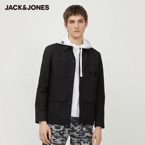 Jack Jones 杰克琼斯 220121567 男士复古工装夹克