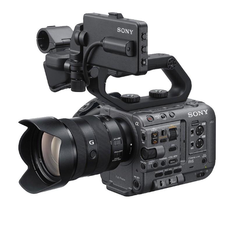 索尼(SONY)ILME-FX6VK(搭配镜头 FE 24-105mm F4 G) 全画幅电影摄影机 超级慢动作电影拍摄高清摄像机
