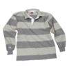 BARBARIAN 中性条纹POLO衫 HAL1700-ASOX 浅灰色 XXL