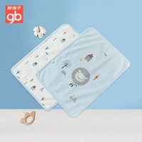 gb 好孩子 婴儿隔尿垫 可洗新生儿防尿垫宝宝护理垫 蓝色星际传说隔尿垫(40*30cm)礼盒装