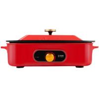 LB 樂邦 LP-WHJ-T300X2 多用途鍋 紅色