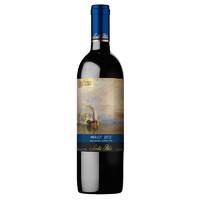 Santa Rita 圣丽塔 国家画廊系列 战舰无畏号 珍藏 美乐干红葡萄酒 750ml