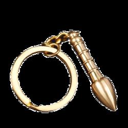 和堂悦舍 全铜文昌笔 钥匙扣