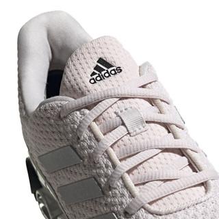adidas 阿迪达斯 Microbounce 男子跑鞋 EH0788 粉银黑 42.5