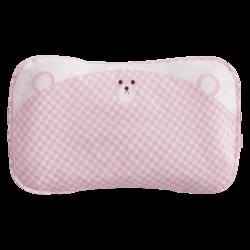 良良婴儿枕头0-3-6岁新生儿宝宝定型枕四季通用防偏头儿童护头枕 *3件