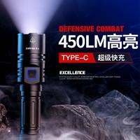 Supfire 神火 GT17 强光高亮远射手电筒