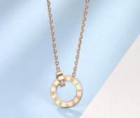 Zocai 佐卡伊 时光里的爱系列 钻石项链