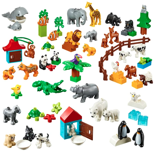 LEGO education 乐高教育 45029 动物套装 得宝大颗粒