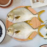 京东PLUS会员:XIANGTAI 翔泰 二去金鲳鱼700g(2条)*3件+三去八爪鱼500g