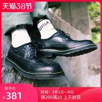 SWL 布洛克低帮鞋男真皮复古工装鞋轻便大头休闲商务皮鞋SW2003