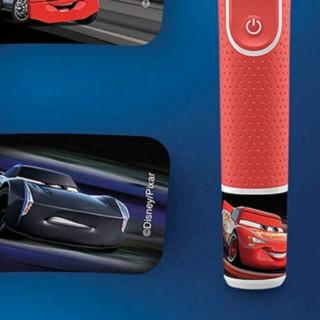 Oral-B 欧乐-B D100 电动牙刷 红色 汽车总动员款